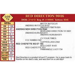 RED DIRECTION 9046