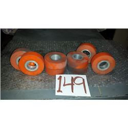 "Rubber Wheel 2""3/4 x 7/8"""