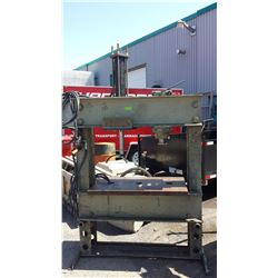 Rodgers Hydraulics K-D Shop Press with side shift Cylinder and Hydraulic Unit