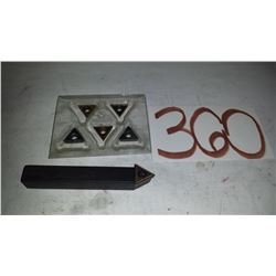 """Holder 1/2"""" with Inserts TCMT 16t30"""
