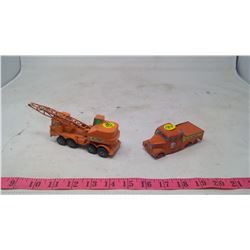 TOY TRUCK AND CRANE