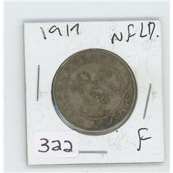 1917F NFLD CANADIAN 50 CENT