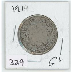 1914G-2 CANADIAN 50 CENT
