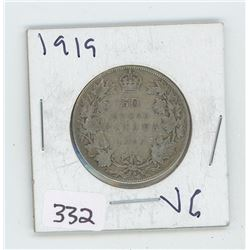 1919VG CANADIAN 50 CENT