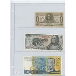 9- ASSORTED BANK NOTES