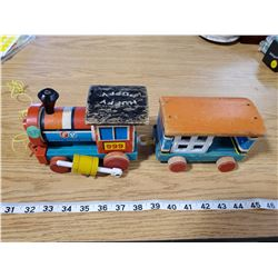 FISHER-PRICE HUFFY PUFFY PULL TOY TRAIN