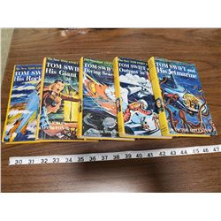 (5) TOM SWIFT BOOKS