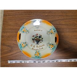 PLATE GIVEAWAY FROM STORE 1935