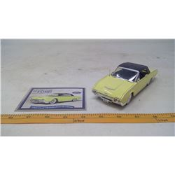 1962 Ford Thunderbird Roadster Model Car