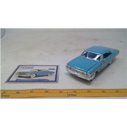1964 Ford Galaxie 500XL Fastback Model Car