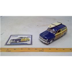 1949 Ford Custom Woody Wagon Model Car