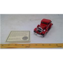 1932 Chevy Roadster Fire Chief Model Car