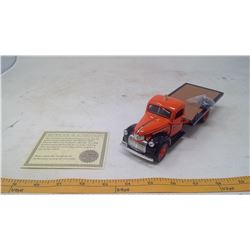 "1941 Chevorlet Flatbed Truck ""AJAX"" Model Car"