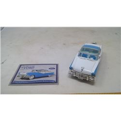1956 Ford Fairline Crown Victoria Skyliner Couple Model Car