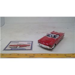 1958 Ford Thunderbird Model Car