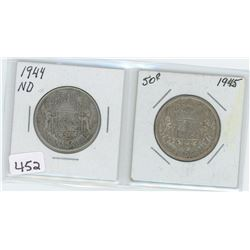 1944ND, 1945 50 CENTS