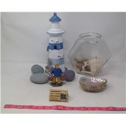 Lot of Seashells & Collectables
