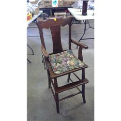 Oak High Chair (Display Only)