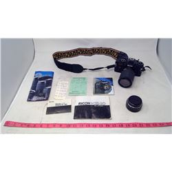 Ricoh Camera w/ Accessories