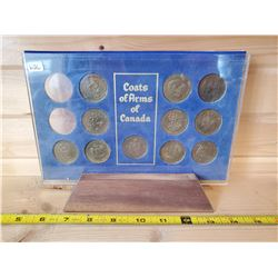 COAT OF ARMS CANADA COIN SET