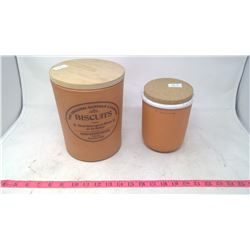 BISCUITS CANISTER/ PLAIN CANISTER