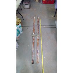 2- Sets of Wooden Skis