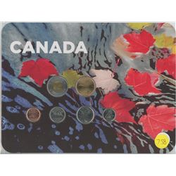 Maple Leaves Coin Collector Card 2010