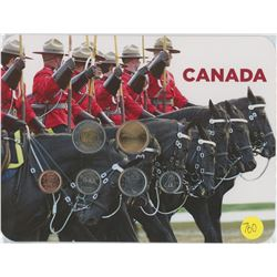 RCMP Coin Collector Card 2010