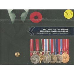 Pay Tribute - 2004, 2008, 2010 - Rememberance Day Coins