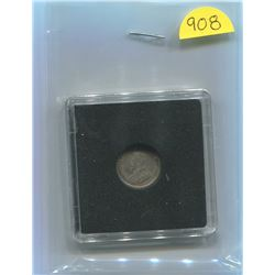 1915 King George 5 Cents F-15