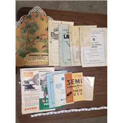 MISC OLD PAPER ITEMS