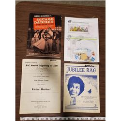 MISC STAMPS, MUSIC BOOKS