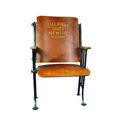 Star Brand Shoes Theatre Style Chair