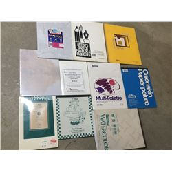 LOT OF VARIOUS ARTISTS PAPER ETC