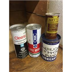 VARIOUS AUTOMOTIVE CANS
