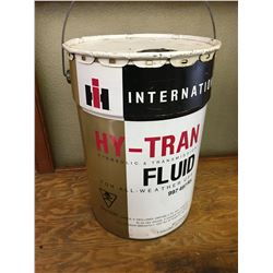 5 GALLON INTERNATIONAL HARVESTER OIL PAIL