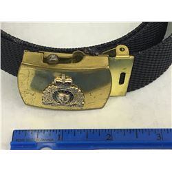VINTAGE RCMP TRAINING BELT