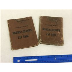 WW2 CANADIAN MILITIA SOLDIERS PAY BOOK