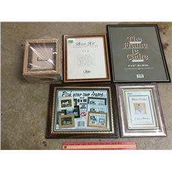 LOT OF UNUSED PICTURE FRAMES