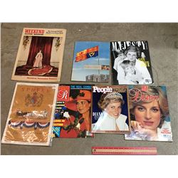 LOT OF ROYALTY RELATED MAGAZINES