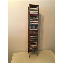 CD RACK AND CDS