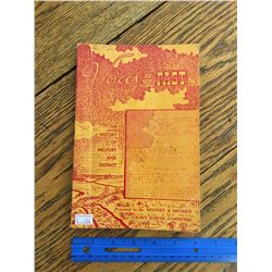 VOICES OF THE PAST MELFORT SK AND DISTRICT LOCAL HISTORY BOOK