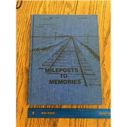 MILEPOSTS TO MEMORIES SOVEREIGN SK LOCAL HISTORY BOOK