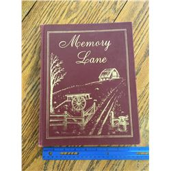 MEMORY LANE BEATTY AND DISTRICT SASK LOCAL HISTORY BOOK