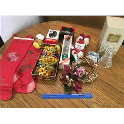 LOT OF CHRISTMAS RELATED SOME VINTAGE