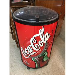"""COCA-COLA RETAIL ICE COOLER DISPLAY STANDS 36"""" TALL"""