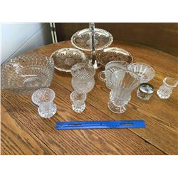 MISC GLASS LOT