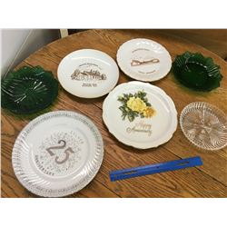 LOT OF VARIOUS PLATES