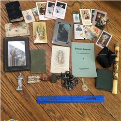LOT OF VARIOUS RELIGIOUS PIECES