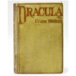 Bram Stoker Signed First Edition Book: Dracula Bram Stoker Signed First Edition Book: [I]Dracula